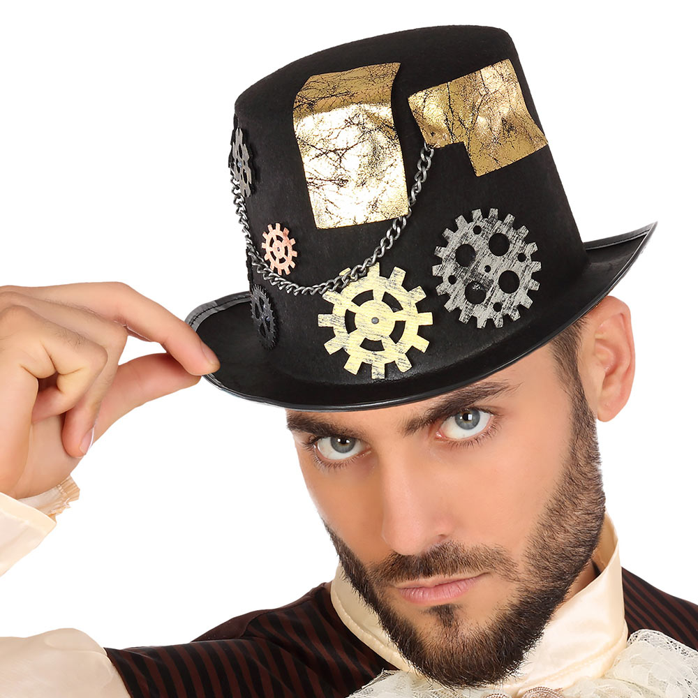 Sombrero Steampunk Negro