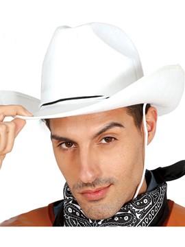Sombrero Vaquero Blanco