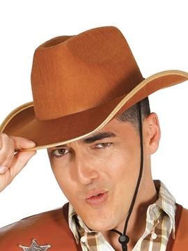 Sombrero Vaquero Fieltro Marrón