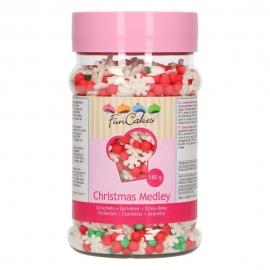 Sprinkles Medley Christmas 180 gr - FunCakes