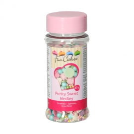 Sprinkles Medley Pretty Pink 65 gr - FunCakes