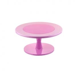 Stand Color Rosa para Tartas 30 cm