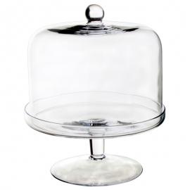 Stand de Cristal con Tapa 25 cm
