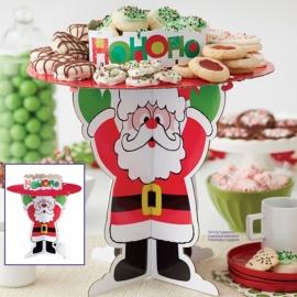 Stand para Galletas y Dulces Papá Noel