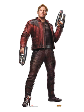 Decoración Photocall Star Lord 190 cm