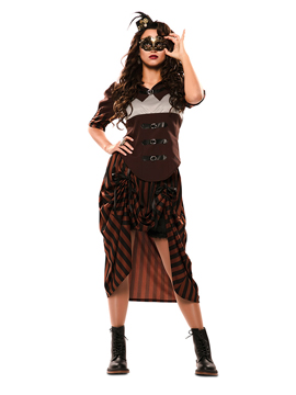 Disfraz Steampunk Mujer Adulto
