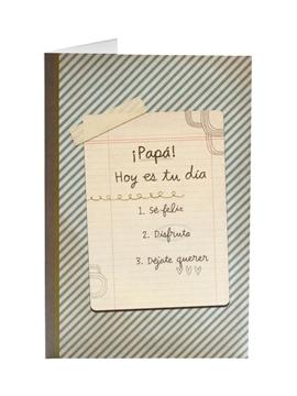 Tarjeta de Felicitación Día del Padre Modelo 2