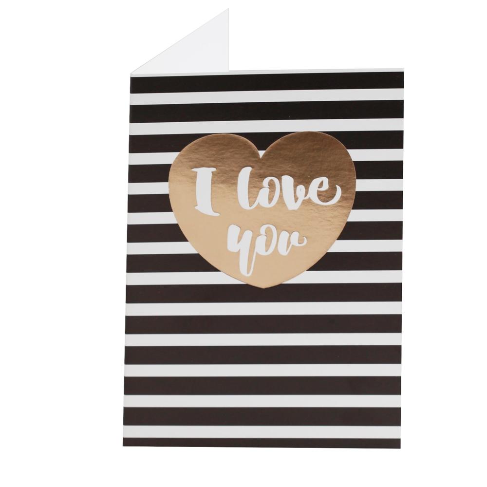 Tarjeta de Felicitación Love Modelo C