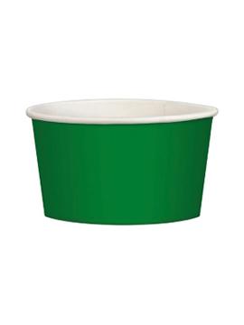 Juego de 20 tarrinas verde