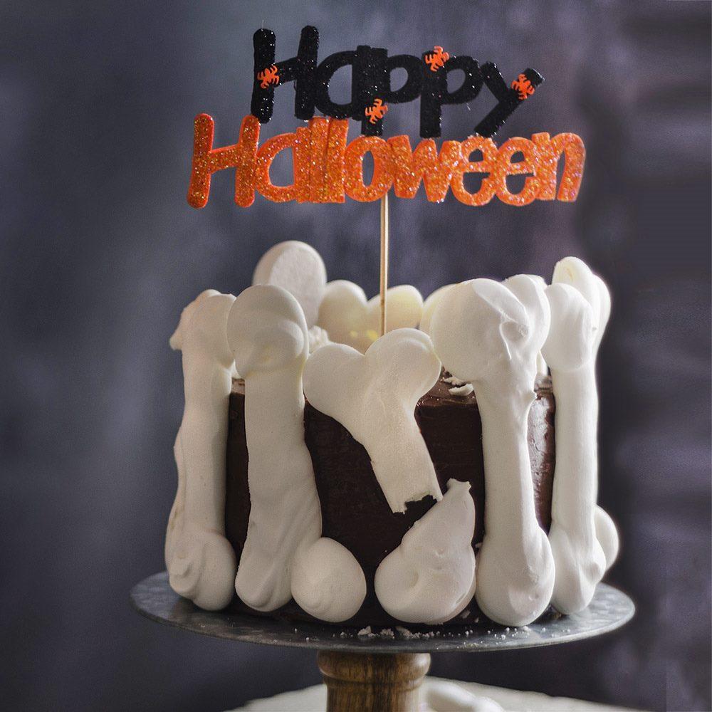 Decoración para Tarta Happy Halloween