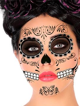 Tatuajes Variados Catrina Blanco y Negro