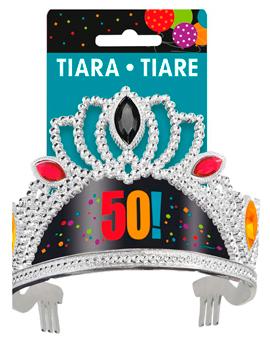 Tiara Cabeza 50 cumpleaños