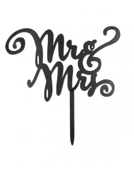 Topper Mr y Mrs Negro