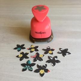 Troqueladora pétalo de flor 2,5cm