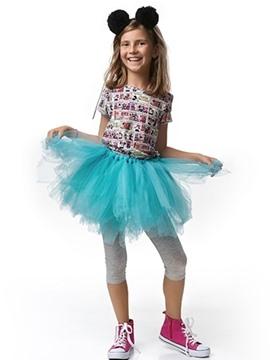 Tutú Color Azul Celeste Infantil