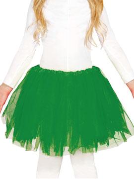 Tutú Verde Infantil