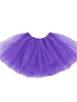 Tutú Color Violeta Infantil