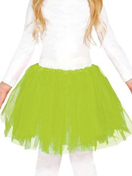 Tutú Verde Lima Infantil