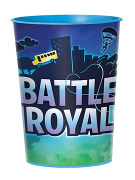 Vaso de Plástico Duro Battle Royal