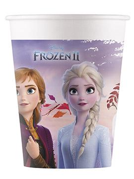Juego de 8 Vasos Frozen 2 Elsa y Anna
