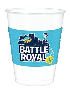 Juego 8 Vasos Battle Royale 473 ml
