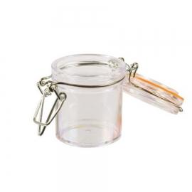 Vasos Transparentes con Tapa 45 ml 12 Ud