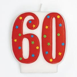 Vela 60 Años Estrellas y Puntos