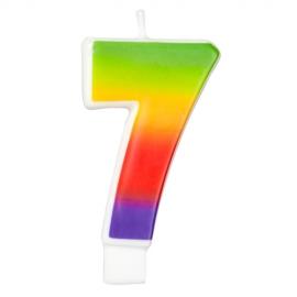 Vela Rainbow Nº 7 Wilton