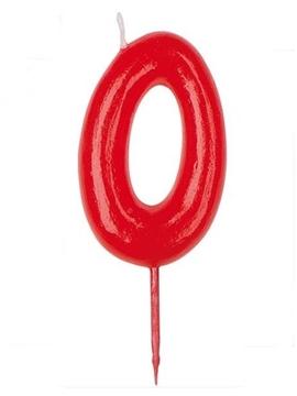 Vela Nº 0 Roja