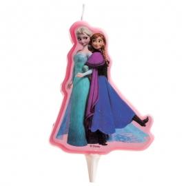 Vela de cumpleaños Frozen 2D
