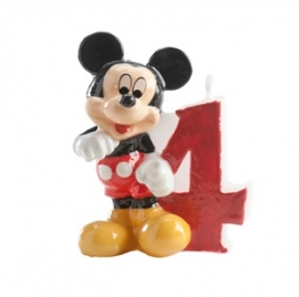 Vela de cumpleaños Mickey Nº 4