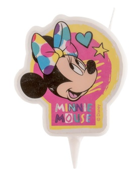 Vela de Cumpleaños Minnie 7 cm