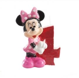 Vela de cumpleaños Minnie Nº 4
