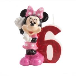 Vela de cumpleaños Minnie Nº 6