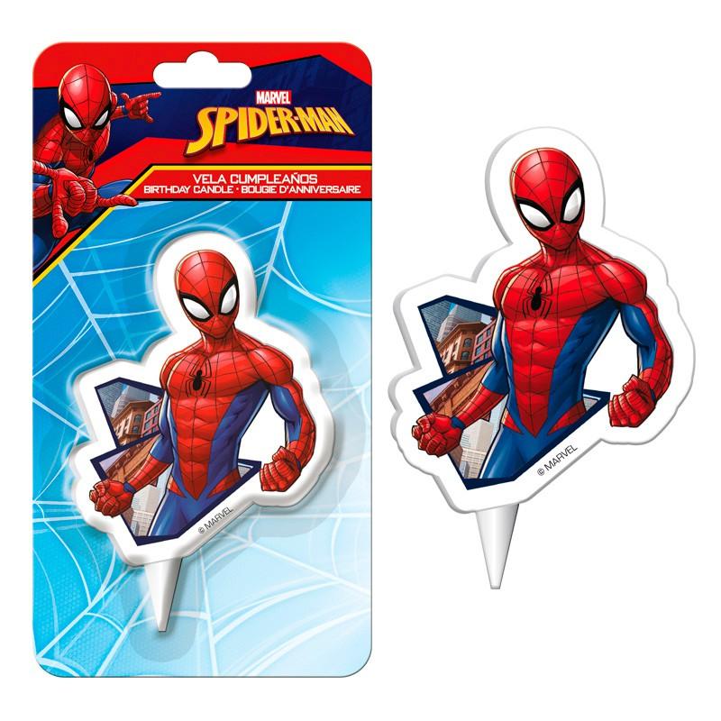 Vela de Cumpleaños Spiderman