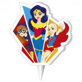 Vela de Cumpleaños Super Hero Girls