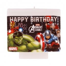 Vela Feliz Cumpleaños de Los Vengadores