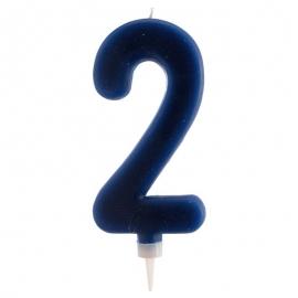 Vela Nº 2 de 15 cm