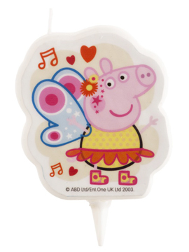 Vela Peppa Pig con Alas