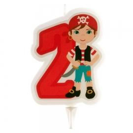 Vela Pirata Nº2