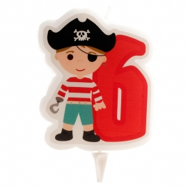 Vela Pirata Nº6
