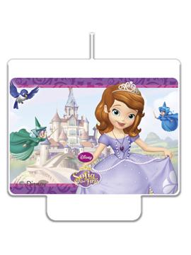 Vela Decoración Princesa Sofia