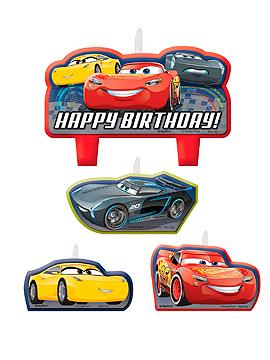 Velas de Cumpleaños Cars 3