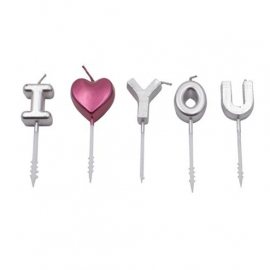 Velas I Love You