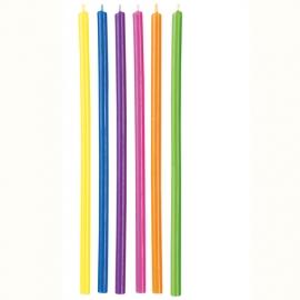 Juego de Velas Largas Multicolor Wilton