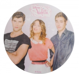 Disco de oblea Violetta & Friends