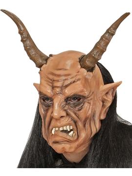 Máscara Diablo con Peluca