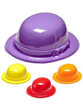 Pack de 12 Sombreros Bombín de Colores