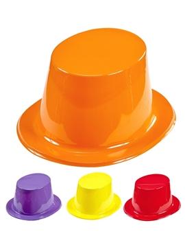 Pack de 12 Sombreros de Copa de Colores