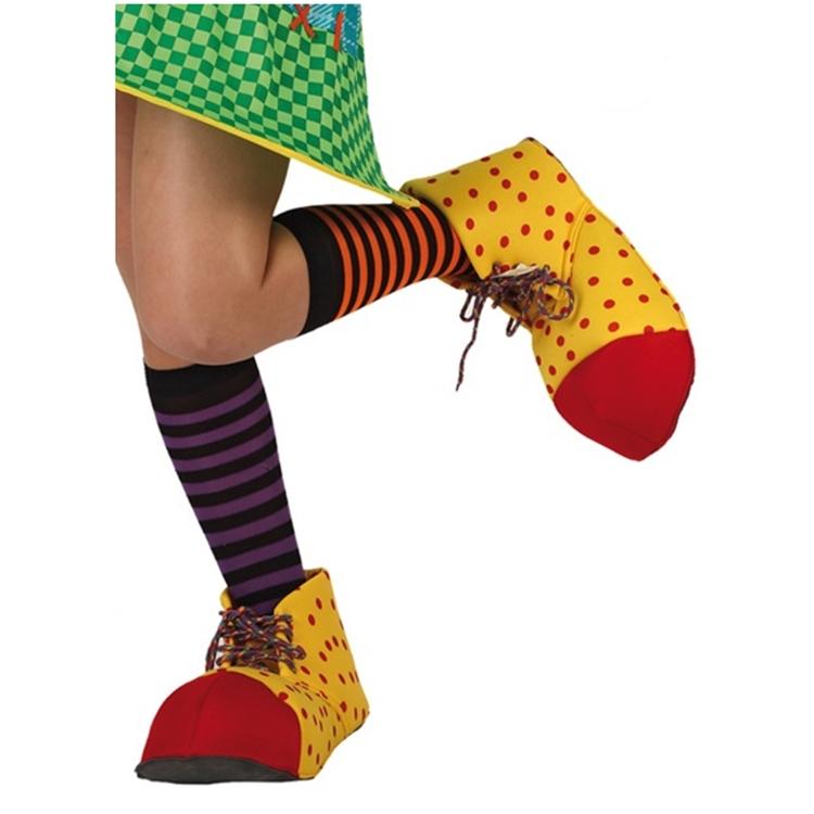Zapatos Payaso Amarillo y Rojo Infantil